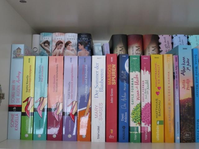 Bücherreihe regal  DIY: Podest für zweite Reihe Bücher inkl. Geheimfach | Was liest du?