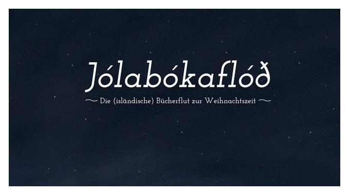 Isländisch Frohe Weihnachten.Jólabókaflóð Die Isländische Bücherflut Was Liest Du