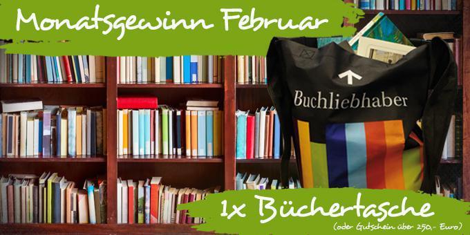 Monatsgewinnspiel Februar: Eine Büchertasche