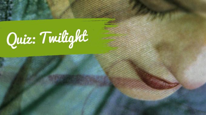 Artikelbild zum Quiz: Twilight