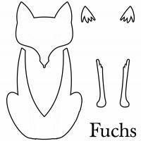 Fuchsvorlage