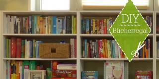 Bookish DIY: Bücherregal; Foto von digra