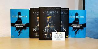Books on the run: 5  x 2  und 2 x 2 Bücher zu gewinnen!
