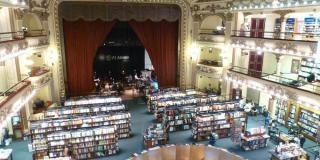 Bücherstadt Buenos Aires - El Ateneo; Foto von Nafreyu