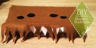 DIY: Monster-Buchhülle