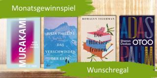 Monatsgewinnspiel April - Gewinne 15 Wunschbücher