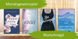 Monatsgewinnspiel im Januar - Gewinne deine Wunschbücher
