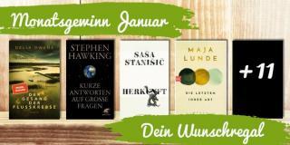 Monatsgewinnspiel Januar - Deine Wunschbücher
