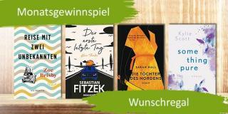 Monatsgewinnspiel Mai: Gewinne deine Wunschbücher