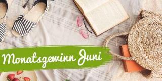 Monatsgewinnspiel im Juni 2021: Gewinne deine Wunschbücher