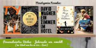 Monatsgewinn November: (D)ein persönliches Bücher-Jahresabo vom rowohlt Verlag