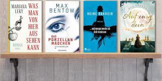 """Neue Woche, neue Bücher #29: Frischer Lesestoff! Juli 2017 u.a. mit """"Was man von hier aus sehen kann"""" (Mariana Leky), """"Das Porzellanmädchen"""" (Max Bentow)"""