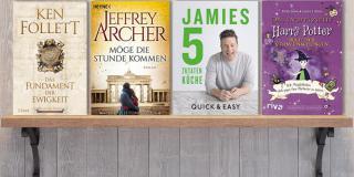 Neue Woche, neue Bücher #37- Neue Bücher im September 2017. U.a. mit Ken Follett, Jamie Oliver, Jeffrey Archer