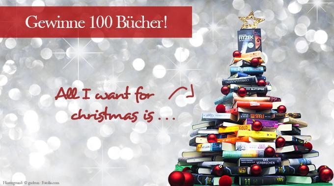 Gewinnspiel: 100-Bücher-Baum (Bildliche Darstellung)