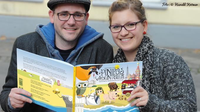Der Weg zum eigenen Buch: Pinipas Abenteuer - Martin Grolms und Annika Kuhn