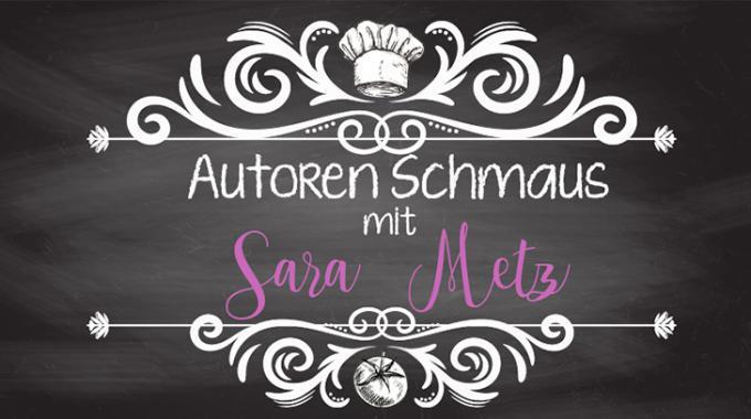 Sarah Metz im Autoren-Schmaus mit Gewinnspiel