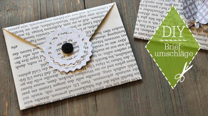DIY: Briefumschläge für Gutscheine