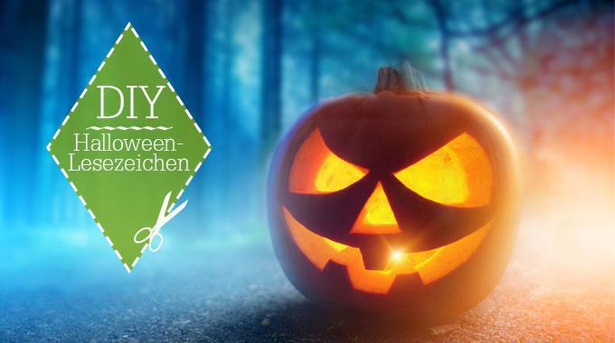 DIY: Last Minute Halloween Lesezeichen