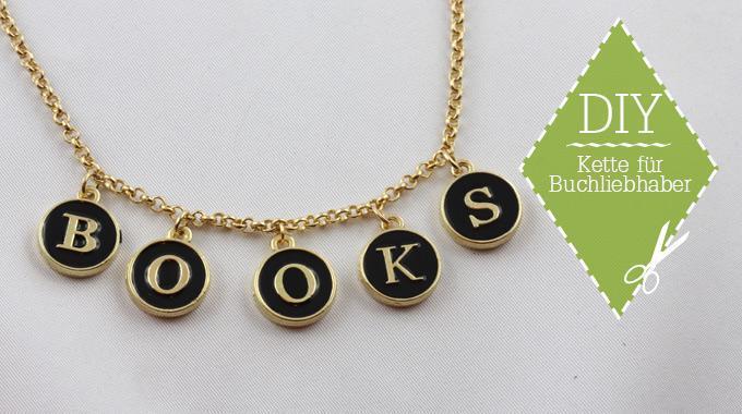 Bookish DIY: Kette für Buchliebhaber