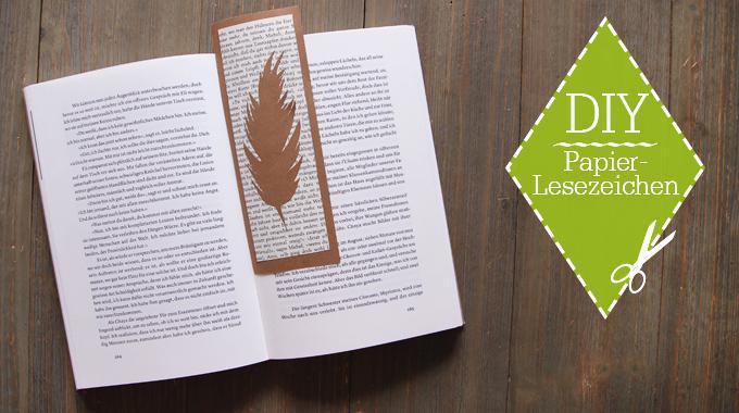DIY: Papierlesezeichen mit Buchseite; Foto von Maren Kahl