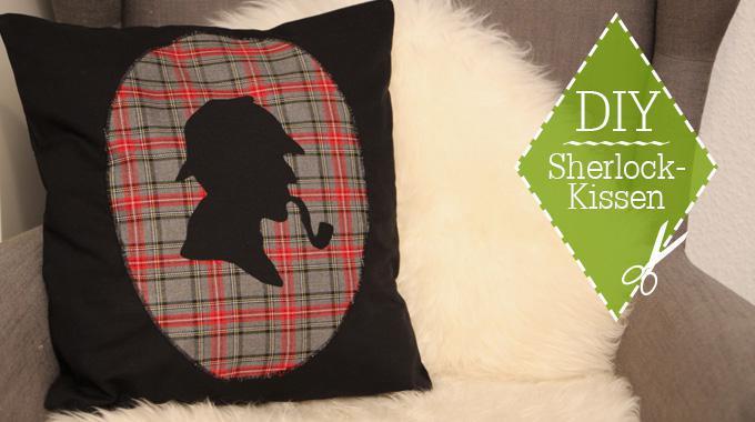 DIY: Sherlock-Kissen; Foto von Maren Kahl