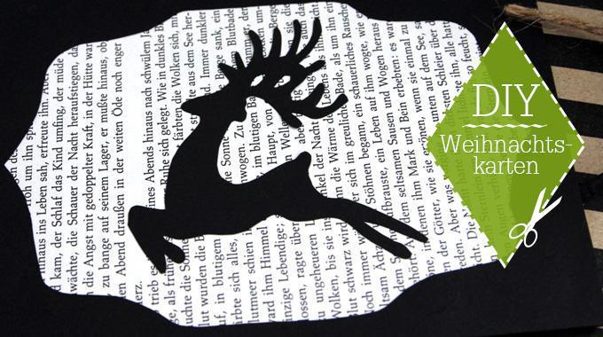 DIY: Weihnachtskarten | Was liest du?