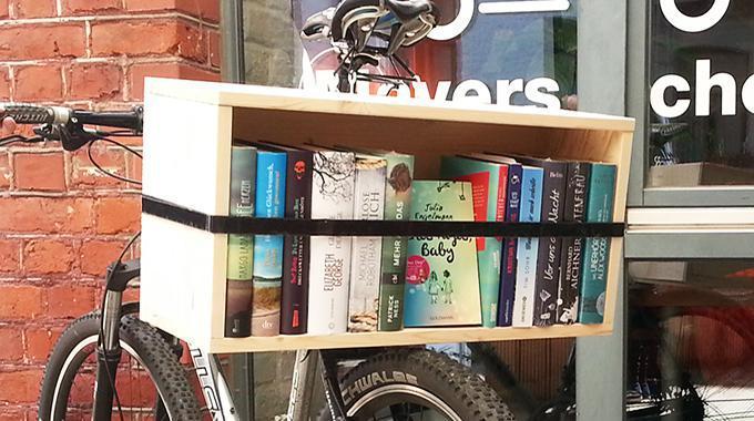'Bookshelf to go' - Die mobile Fahrrad-Bibliothek (Do it yourself)