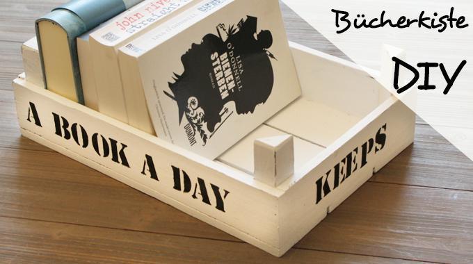 DIY Bücherkiste