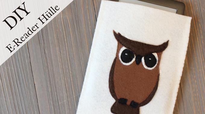DIY E-Reader Hülle mit Eule