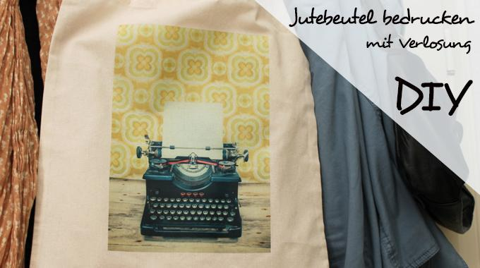 Do it yourself: Jutebeutel bedrucken