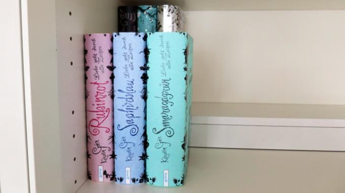 DIY: Podest für zweite Reihe Bücher inkl. Geheimfach (Foto von line91blog)