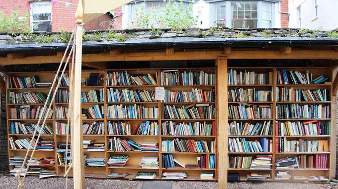 Hay-on-Wye - eine Reise in die Stadt Bücher