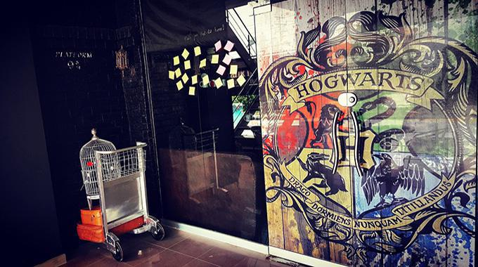 "Das ""Hogwarts Café"" in Islamabad – (c) Hogwarts Café"
