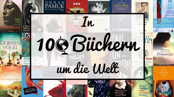 In 100 Büchern um die Welt - Teil I - von Neuseeland bis nach Rumänien