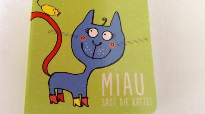 Miau sagt die Katze