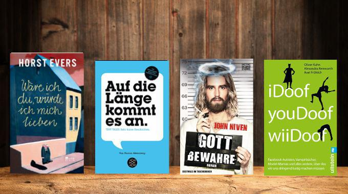 Was liest du? WDR Fernsehen 06.12., Jürgen von der Lippe und Jochen Malmsheimer