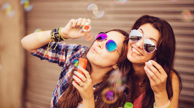 lucknow Mädchen Freundschaft