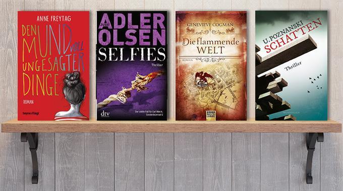 Neue Woche, neue Bücher #10: Frischer Lesestoff!