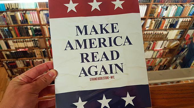Make books great again - Foto: (c) Torsten Woywod