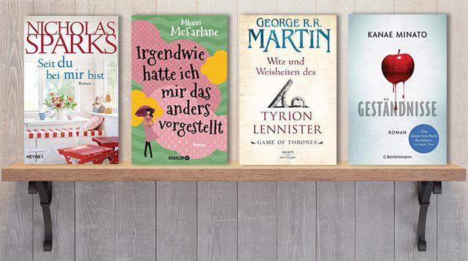 Neue Woche, neue Bücher #13: Frischer Lesestoff! Neue Bücher Ende März und Anfang April 2017