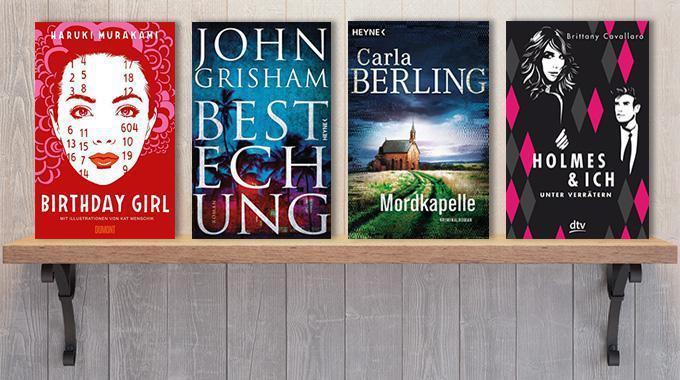 Neue Woche, neue Bücher #15: Frischer Lesestoff!