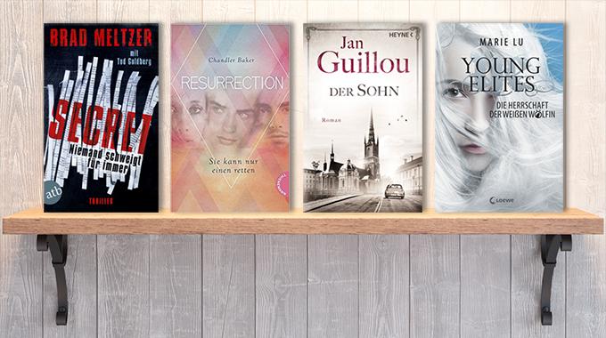 Neue Woche, neue Bücher #03: Frischer Lesestoff! Neue Bücher im Januar 2018