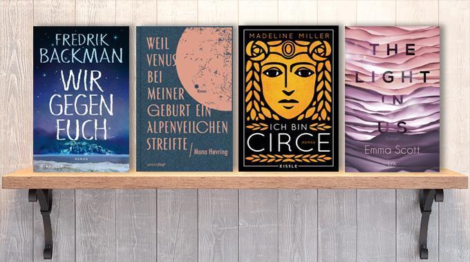 Neue Woche, neue Bücher #35: Frischer Lesestoff! Neue Bücher im August
