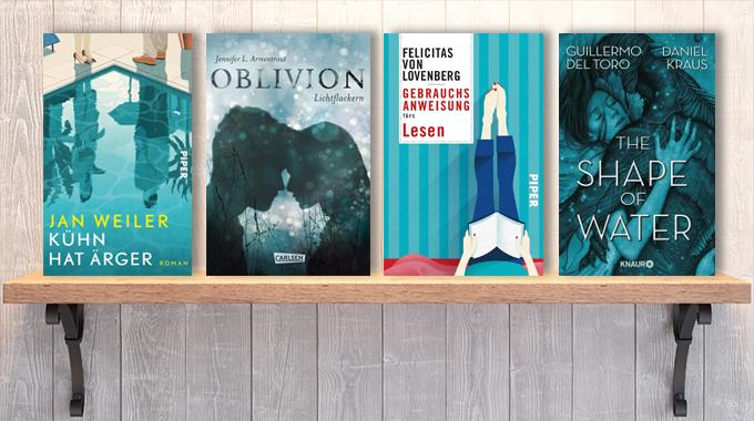 Neue Woche, neue Bücher #09: Frischer Lesestoff! Neue Bücher im Februar / März