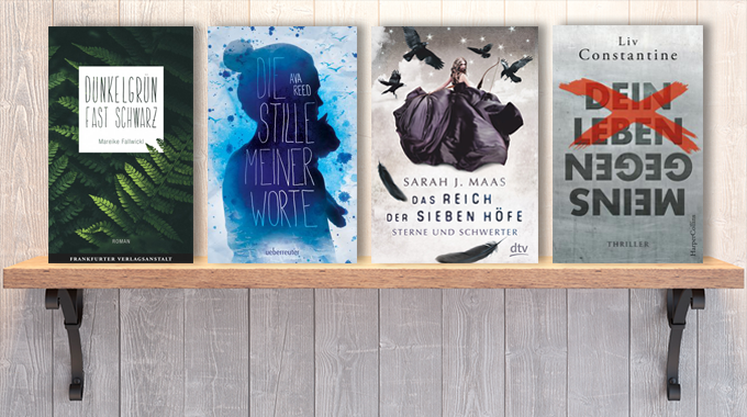 Neue Woche, neue Bücher #10: Frischer Lesestoff! Neue Bücher im März