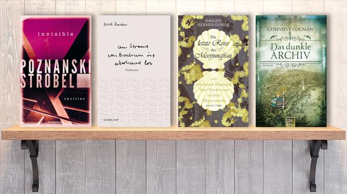 Neue Woche, neue Bücher #13: Frischer Lesestoff! Neue Bücher im März
