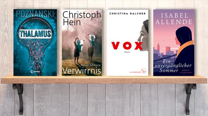 Neue Woche, neue Bücher #33: Frischer Lesestoff! Neue Bücher im August