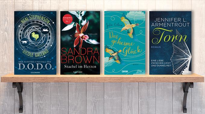 Neue Woche, neue Bücher #50: Frischer Lesestoff! Neue Bücher im Dezember