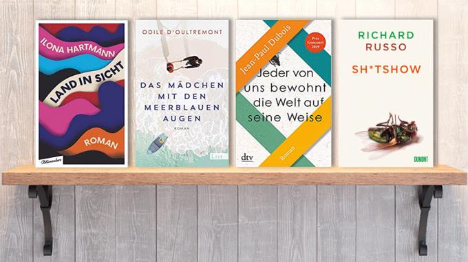 Neue Bücher im Juli: Frischer Lesestoff! Neuerscheinungen im Juli