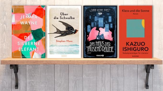 Neue Bücher im März: Frischer Lesestoff - Neuerscheinungen Bücher März 2021